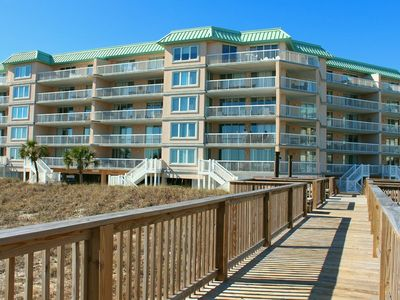 Photo for Newly Renovated, Warwick 101 is Oceanfront with a Private Stairs to the Beach and Pool