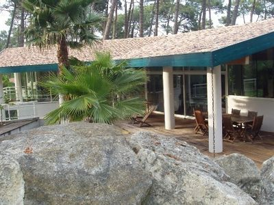 Photo for New and mod cons apartment in a modern villa at the heart of the forest, all