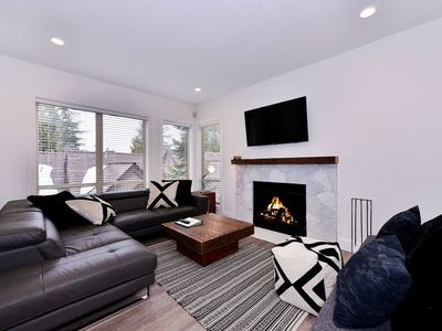 Photo for Painted Cliff Ski-in, Ski-out Luxury with serene mountain views, sleeps 6 (43)