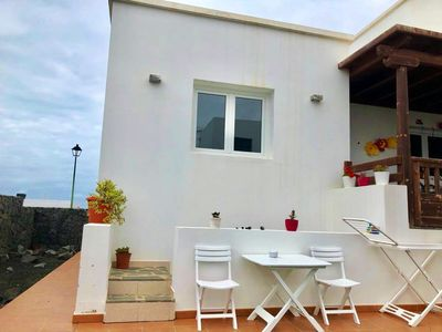 Photo for Homerez last minute deal - Nice studio with terrace and Wifi