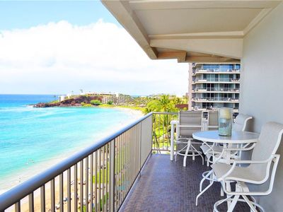 Photo for Whaler at Kaanapali Beach sweeping ocean from views from this 2bd Oceanfront Suite. #852