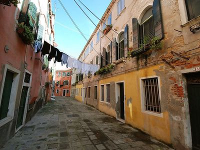 Photo for Apartment 220 m from the center of Venice with Internet, Washing machine (116353)