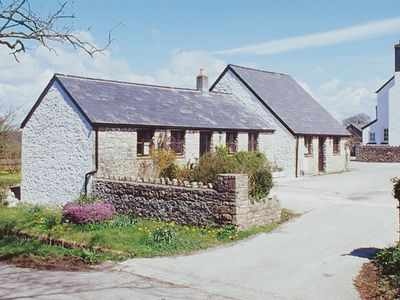View of the two holiday cottages