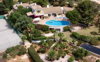 Photo for Villa With Private Pool, Tennis Court And Sea Views