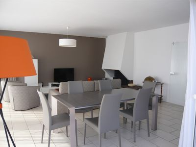 Photo for Nice apartment 4/6 pers. of 140m ² town center of the peninsula of CAP-FERRET