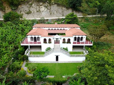 Photo for Lakefront Spanish Colonial Home with Panoramic views of Lake Atitlan