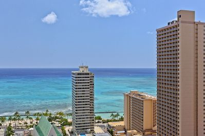 Cant beat these views of Waikiki!