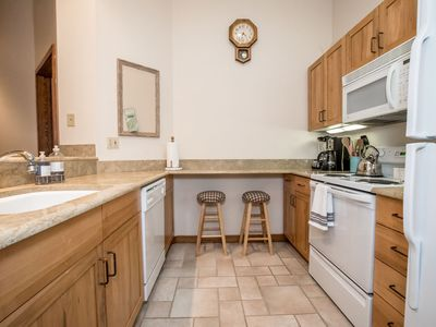 Photo for Newly renovated, perfectly located, Ski-in/Ski-out 2BR Condo in Kintla Lodge
