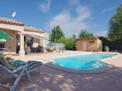 Photo for Modern and spacious Villa full foot of 131m2 with pool in Pouzols Minervois