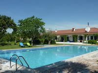 Very good swimming pool, lovely garden and they make you feel you are at home.