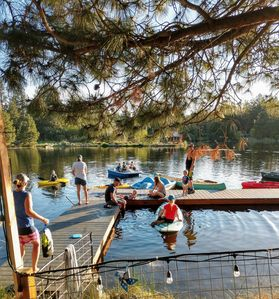 Photo for Log Lodge is close to Bend, Mt Bachelor, & Sun River, large enough for groups