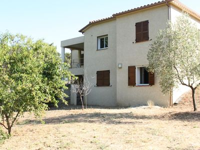 Photo for Near St Florent, large villa with fenced garden