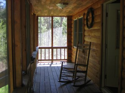 Perfect for loon listening or wildlife watcing