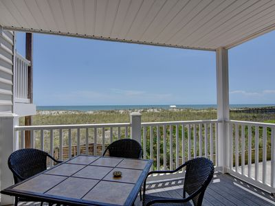 Photo for Beach Front Oasis - Oceanfront condo just steps away from the sandy beach