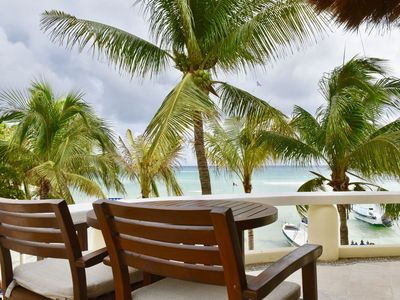 Photo for Ocean front suite in caribbean paradise.