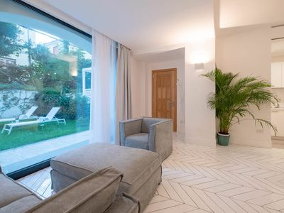 Photo for Brand new 3BR 3BT lavish serviced central apartment with private pool and garden