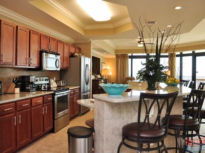 Photo for Spacious, Comfortable 4 Bedroom 4.5 Bath Condo W/ Panoramic Views from Every Roo