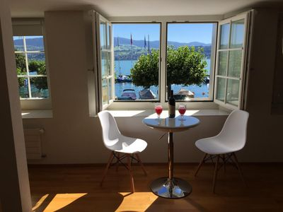 Photo for Fantastic apartment with lake view in Stäfa near Zurich