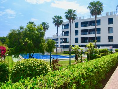 Photo for Luxury with 2 bedrooms and 2 bathrooms. Air conditioning, 50 m to the beach