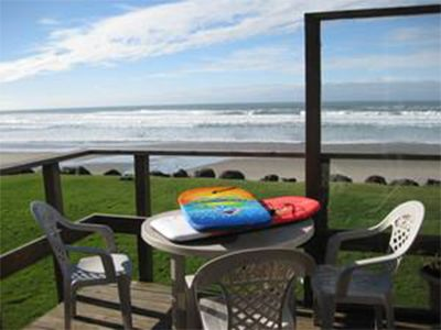 Photo for Beachfront home in Roads End, Lincoln City