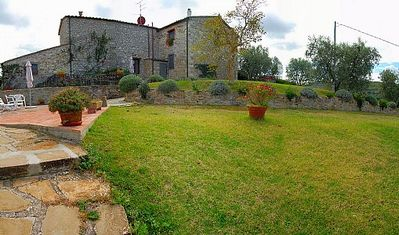 Photo for One bedroom Villa, sleeps 2 in Fattoria Montecchio with Pool and WiFi