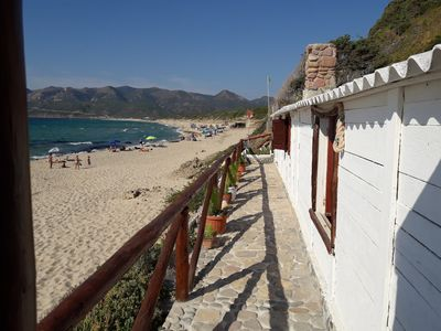Photo for Ancient fisherman's house on the sand Antica Tonnara