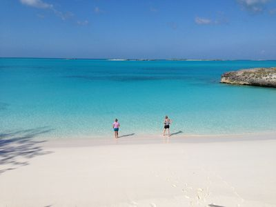 Photo for Beachfront Exuma Villa. Ideal Location. Close to restaurants and Georgetown