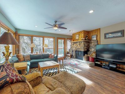 Photo for NEW LISTING! Cozy townhome w/ sauna & amazing Mt. Royal view