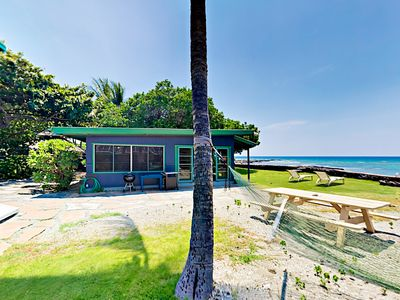 Photo for Delightful 1BR Oceanfront Cottage w/ Incredible Panoramic Views