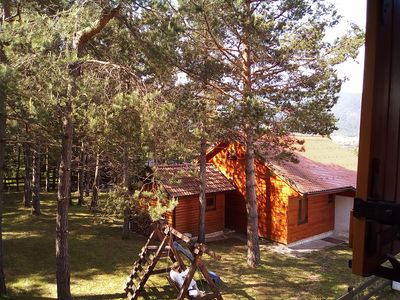 Photo for Mountain view Vacation Lodge - Plitvice Lakes - family friendly home in Nature