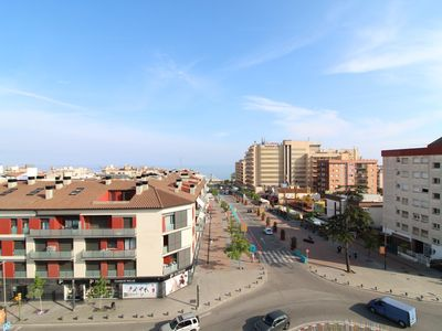 Photo for 2 bedroom apartment with pool in the center of Calella