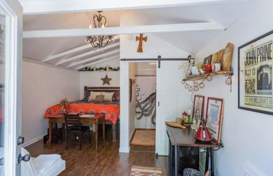 Location, Location, Location! And charm at this tiny house all to yourself!