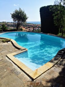 Photo for Large Private Pool Villa, Views of Collioure Bay: New Photos