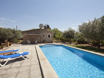 Photo for Catalunya Casas: Villa Fontana for 2, next to the old town of Pollensa and 5km to the beach!