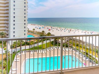 Photo for Waterfront condo w/ shared pool & incredible views - on the beach