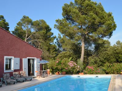 Photo for PROMO 22-29JUILLET // In absolute calm, large villa for 10 persons with swimming pool