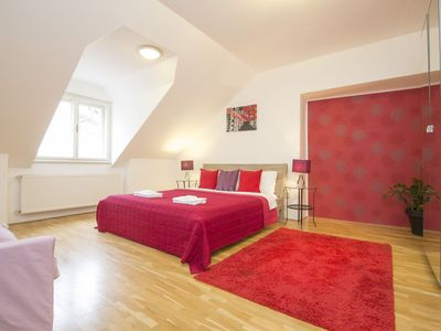 Photo for Old Town 4 bedroomed apartment with great roof terrace, free wifi and free transfer on arrival