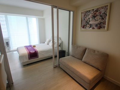 Photo for Near Airport Nice 1BR @ Azure Miami 1510