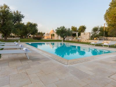 Photo for Trullo La Specchia Wonderful, exquisite Trullo and 2 Lamias, sleeps 8 comfortably