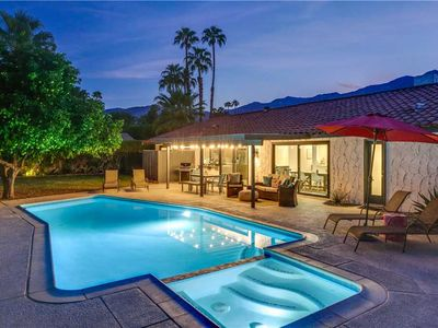 Photo for Stunning Mediterranean home in desirable South Palm Springs!