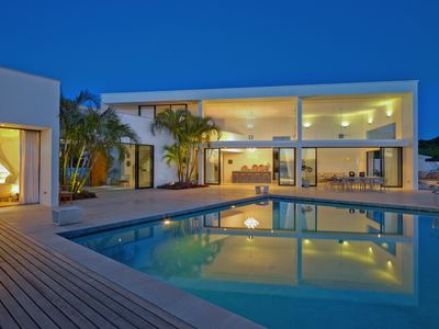 Photo for Design 4 bedroom villa with stunning views.