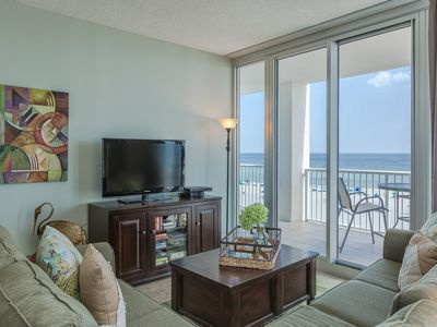 Photo for Fantastic FALL Rates! BOOK NOW AND SAVE!*ON BEACH*3BR/3BA Corner Unit 503