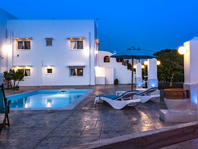 Photo for Dionysus villa with priva pool ,just a few steps from the beach