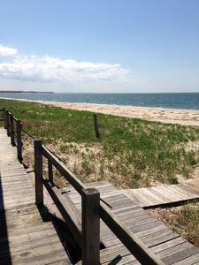 Photo for Southold Soundfront Private Beach