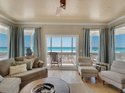 Photo for Sleeps 18+! Great decks !  Gulf Front! Will sell out! Book 2019 Now!