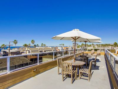 Photo for *UPGRADED* Family Beach Home- LARGEST in Mission Beach- AC, Roof Deck, BBQ