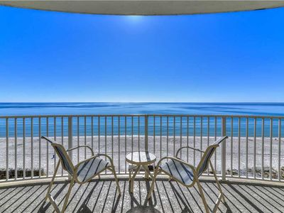 Photo for 7th Floor Perfect Beach View! Top Resort w/ In/Out Hot Tubs & Pool!