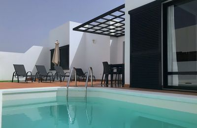 Photo for PRIVATE, RELAXING 3 Bed Villa, 20 mins walk from marina with heated pool and BBQ