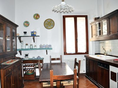 Photo for Quiet Spacious Central Ancient Apt, wifi AC Elevator, steps from major sights!