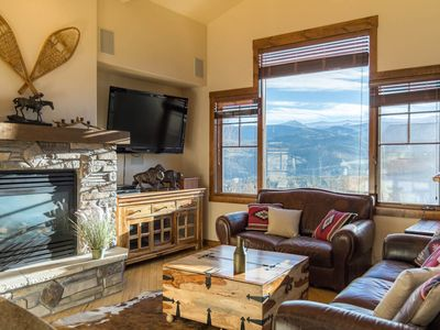 Photo for Private Deck and Hot Tub with Downtown Views | Mountain Living | Sleeps 11